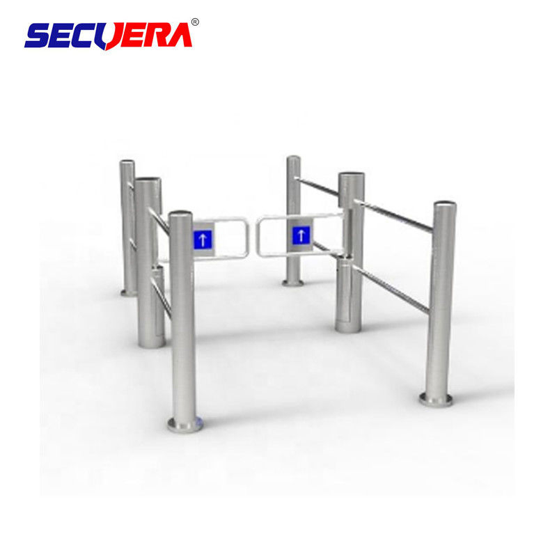 Fingerprint and Slim Swing Turnstile Opener for office building turnstile barrier gate