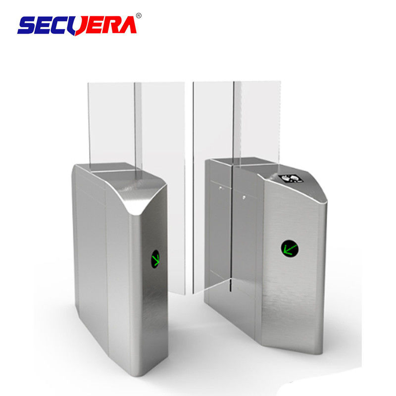 optical smart pedestrian entrance Sliding barrier electronic turnstile barrier gate