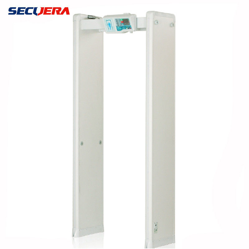 Security Full Body Scanner Walk Through Metal Detector cost effective 6 detection zones