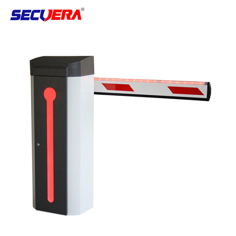 Aluminum Alloy Vehicle Barrier Gate , Security Gate Barrier For Car Parking