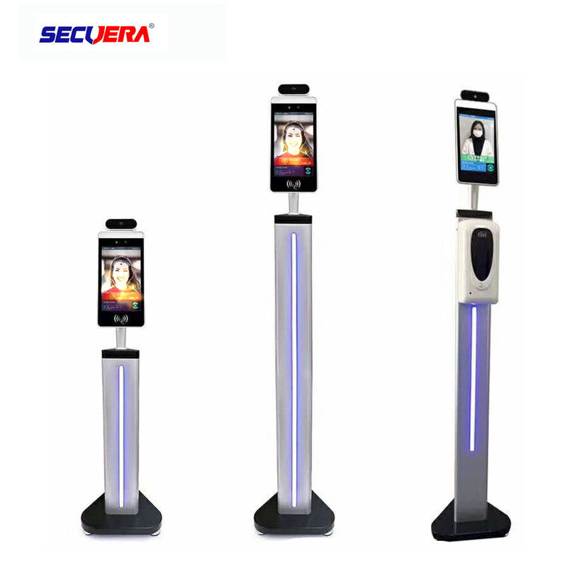 DC 12V Walk Through Temperature Scanner IR Face Recognition Measurement On Bus Stop
